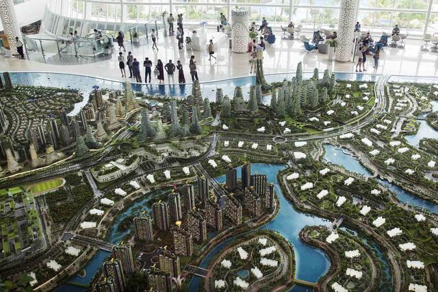 Hoảng sợ siêu dự án 100 tỷ USD gần Singapore của Trung Quốc