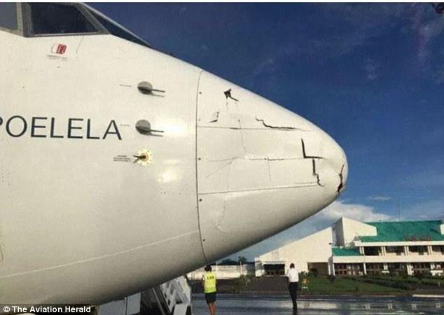 Máy bay, đâm máy bay, tai nạn hàng không, sự cố hàng không, Mozambique, máy bay không người lái, Boeing