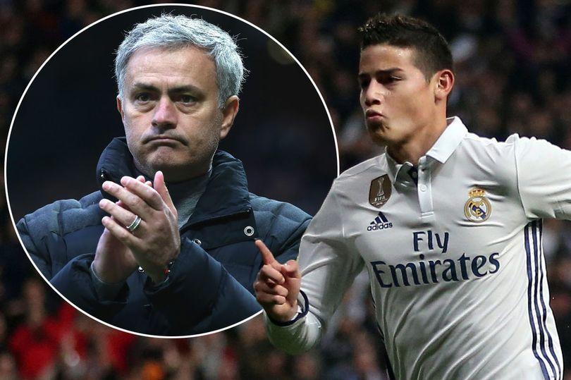 Hục hặc Zidane, James Rodriguez quyết đào tẩu sang MU