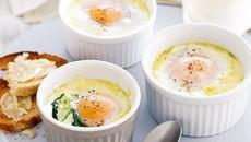 Tự làm trứng nướng phô mai thơm ngon