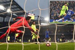 Terry nhận thẻ đỏ, Chelsea vẫn thắng lớn tại FA Cup