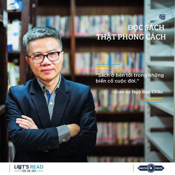 Đọc sách thật phong cách với GS Ngô Bảo Châu, Hoa hậu Ngô Phương Lan