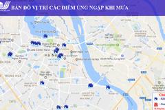 Hà Nội: Tra chất lượng không khí, điểm úng ngập trên mạng