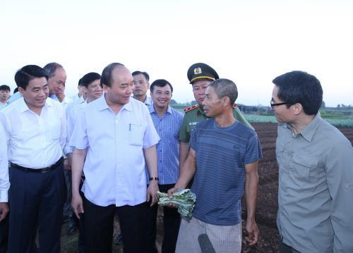 Chính phủ liêm chính, hành động, Thủ tướng Nguyễn Xuân Phúc