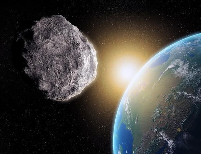 Hai thiên thạch khổng lồ đang lao về phía Trái đất