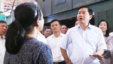 """Ông Đinh La Thăng thị sát """"điểm nóng"""" xây dựng trái phép ở Sài Gòn"""