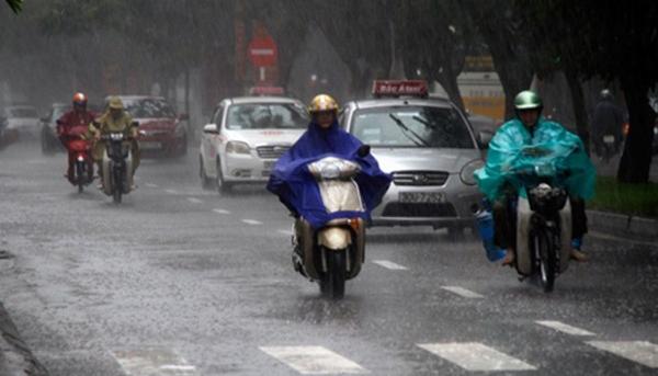 Hôm nay mưa khắp miền Bắc, kéo dài 3 ngày - ảnh 1