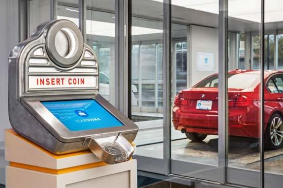 Người Mỹ, mua xe ô tô trực tuyến, máy bán tự động, máy bán cà phê, nước giải khát, bán hàng trực tuyến