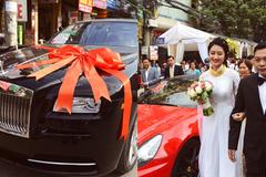 Hoa hậu Thu Ngân, Đông Nhi được tặng siêu xe hàng chục tỷ