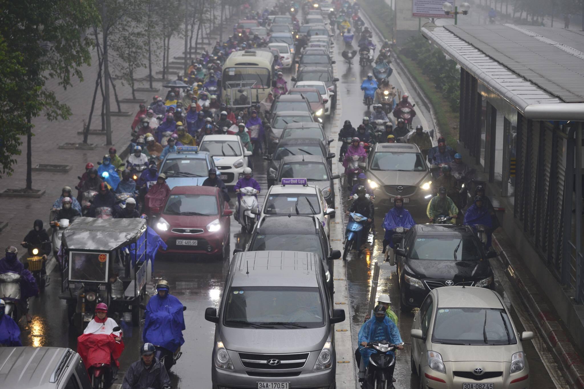 hà nội, tắc đường, an toàn giao thông