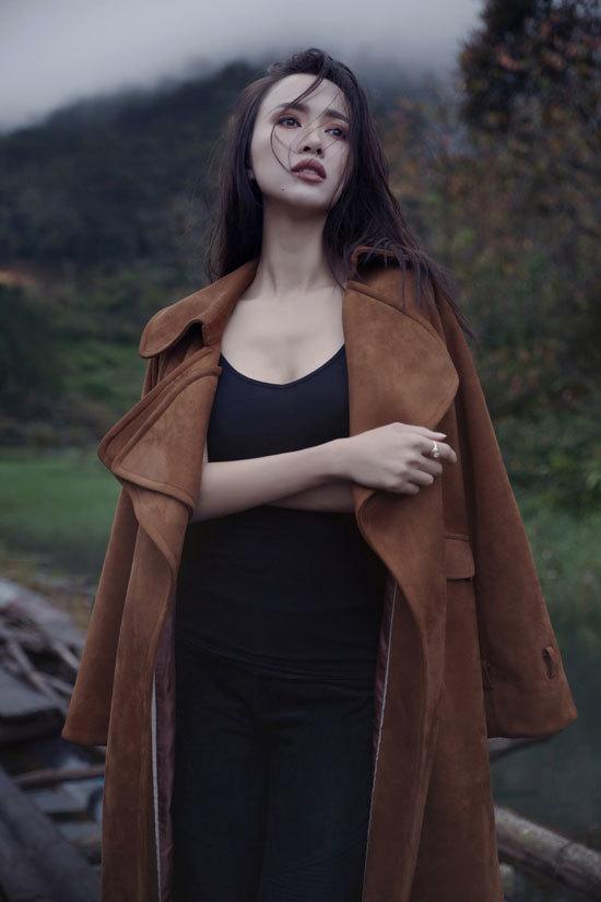 Vũ Ngọc Anh không sexy vẫn đẹp khó cưỡng