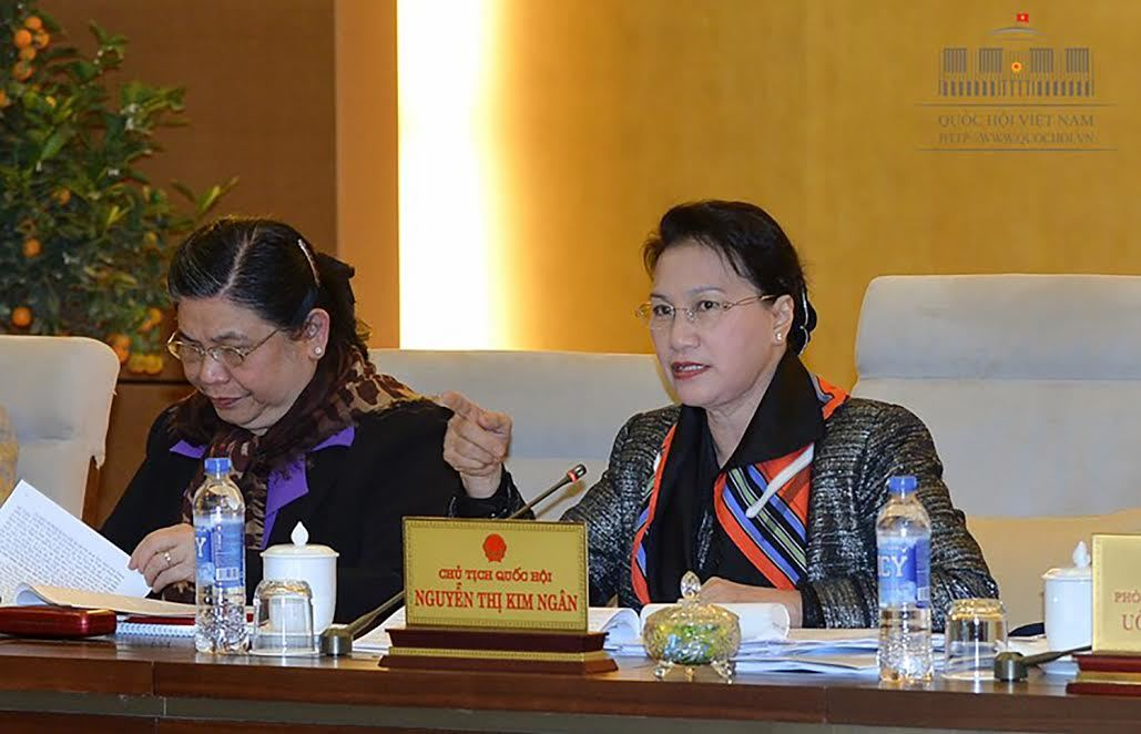 giám sát, hoạt động giám sát của QH, Phùng Quốc Hiển, Phó chủ tịch QH, Nguyễn Thị Kim Ngân, Chủ tịch QH