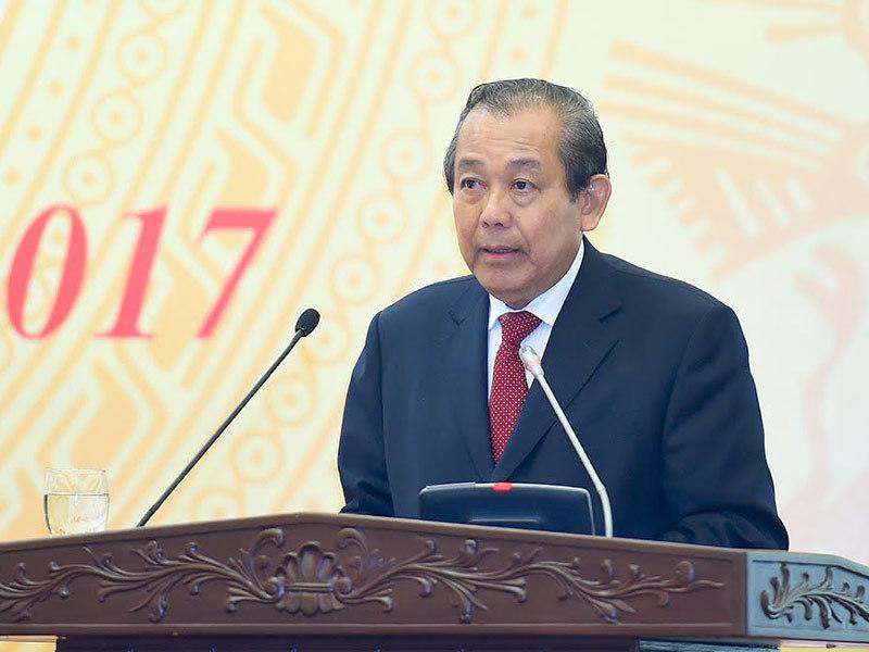 lợi ích nhóm, Phó Thủ tướng Trương Hòa Bình, Trương Hòa Bình
