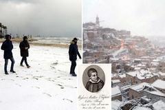 Thời tiết Italy giống lời tiên tri ngày tận thế, dân lo sợ