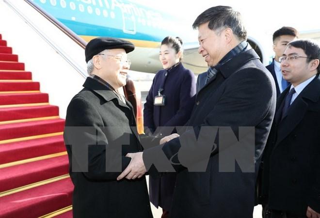 Tổng bí thư đến Bắc Kinh - ảnh 2