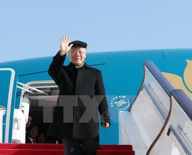 Tổng bí thư đến Bắc Kinh - ảnh 1