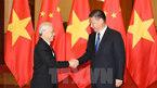 Tổng bí thư Việt Nam - Trung Quốc hội đàm