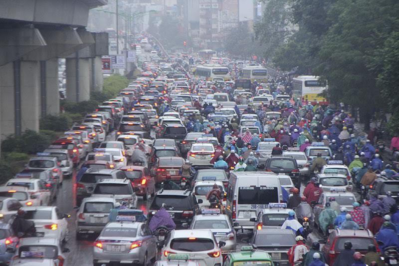 tắc đường, tắc đường Hà Nội, giải pháp chống ùn tắc