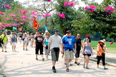 Trung Quốc dẫn đầu lượng khách quốc tế đến Việt Nam
