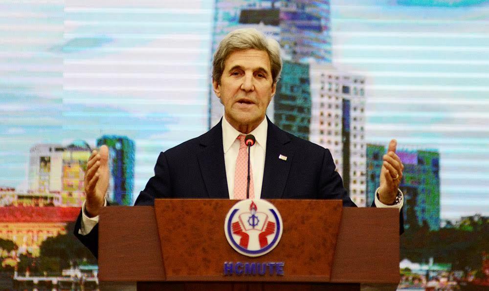 Cuộc chuyện trò cuối cùng của Ngoại trưởng J.Kerry tại châu Á
