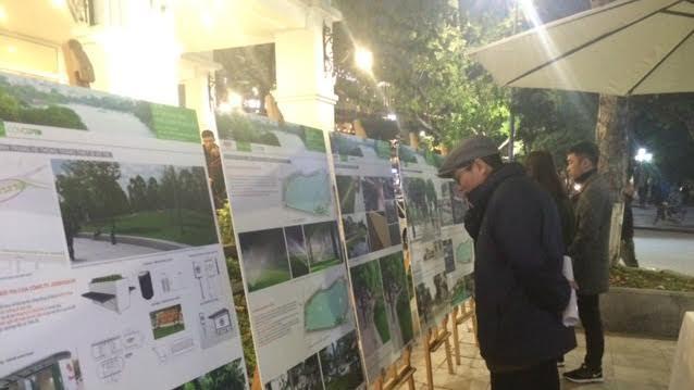 Lấy ý kiến người dân việc chỉnh trang quanh hồ Hoàn Kiếm - ảnh 2