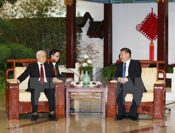 Tổng bí thư Nguyễn Phú Trọng, Nguyễn Phú Trọng, Tổng bí thư thăm Trung Quốc, Trung Quốc