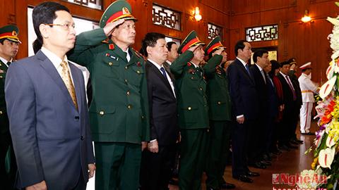 Chủ tịch nước thăm, làm việc tại Nghệ An
