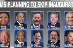 Một loạt nghị sĩ tẩy chay lễ nhậm chức của Trump