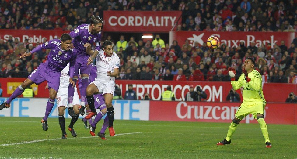 Real, Real Madrid, Ronaldo, Cristiano Ronaldo, Sergio Ramos, La Liga, Sevilla