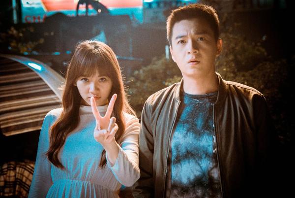 Hari Won cực đáng yêu trên phim trường '49 ngày 2'