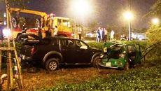 Tài xế say xỉn gây tai nạn, 4 người bị thương ở Sài Gòn