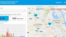 Hà Nội công bố chỉ số chất lượng không khí hàng ngày