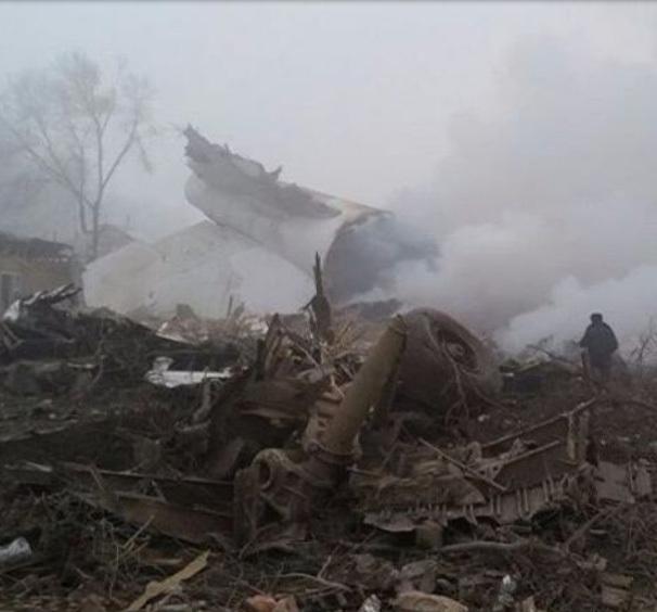 Máy bay Thổ Nhĩ Kỳ đâm xuống khu dân cư, hơn 30 người chết