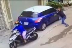Gần Tết, cẩn thận ô tô bị 'vặt sạch' gương
