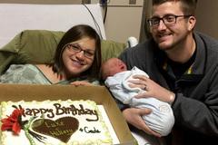 Hi hữu cả gia đình đều có cùng ngày sinh nhật