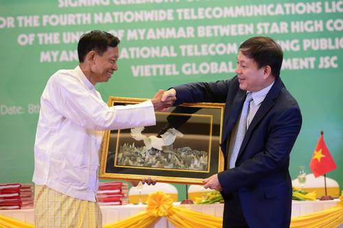 Viettel đầu tư vào dự án 2 tỷ USD tại Myanmar