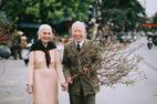 Xôn xao bộ ảnh kỷ niệm ngày cưới của đôi vợ chồng U90