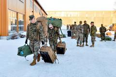 Lính Mỹ tới Na Uy, Điện Kremlin khó chịu