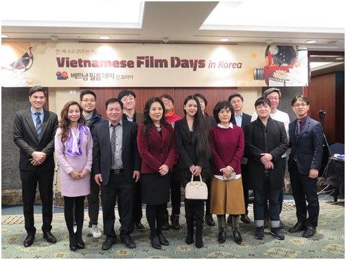 áo dài, Ngày phim Việt Nam, Hàn Quốc, văn hóa