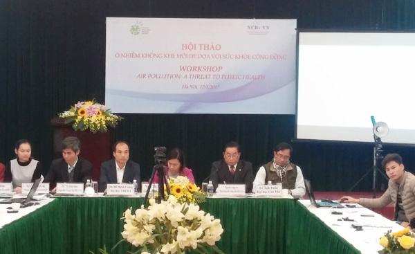 ô nhiễm không khí, bụi PM2.5, ô nhiễm không khí tại Hà Nội