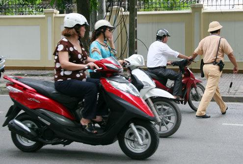 giao thông, an toàn giao thông, xử phạt lỗi giao thông