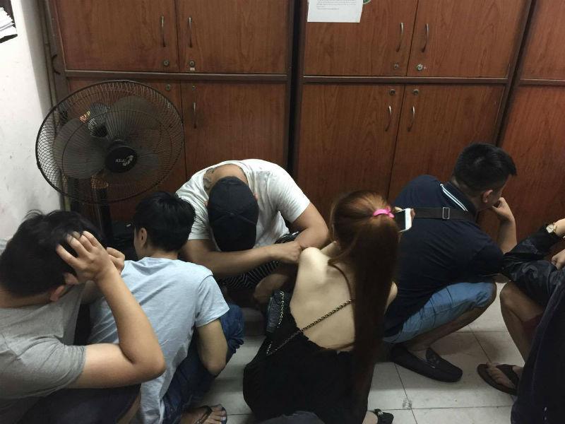 ăn chơi ở nhà hàng KTV 02, động lắc ở trung tâm Sài Gòn, dân chơi ma túy ở Sài Gòn