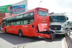 Phụ lái hãng Phương Trang bị đâm tử vong khi ra tín hiệu lùi xe