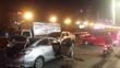6 xe tông liên hoàn ở Sài Gòn, 2 cô gái bị thương nặng