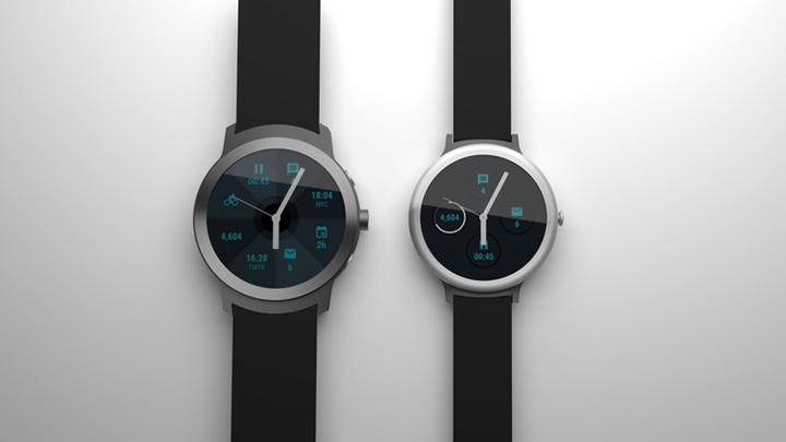 Google sắp tung 2 mẫu đồng hồ thông minh chạyAndroid Wear 2.0