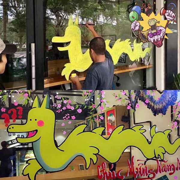 Rồng pikachu Hải Phòng thành 'linh vật' hot nhất Tết 2017