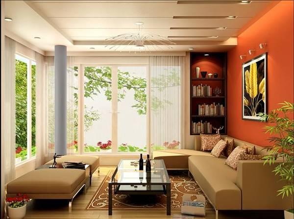 căn hộ mùa đông, bí quyết xua tan cái lạnh của mùa đông, trang trí phòng khách