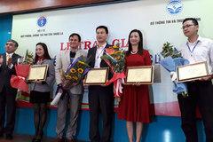 Bộ TT&TT trao giải cuộc thi viết về phòng, chống tác hại thuốc lá
