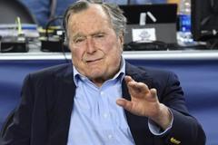Cựu tổng thống Mỹ Bush 'cha' nhập viện