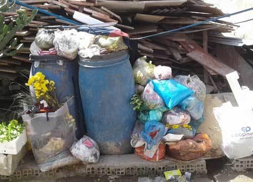 Rác thải sinh hoạt, ô nhiễm môi trường,